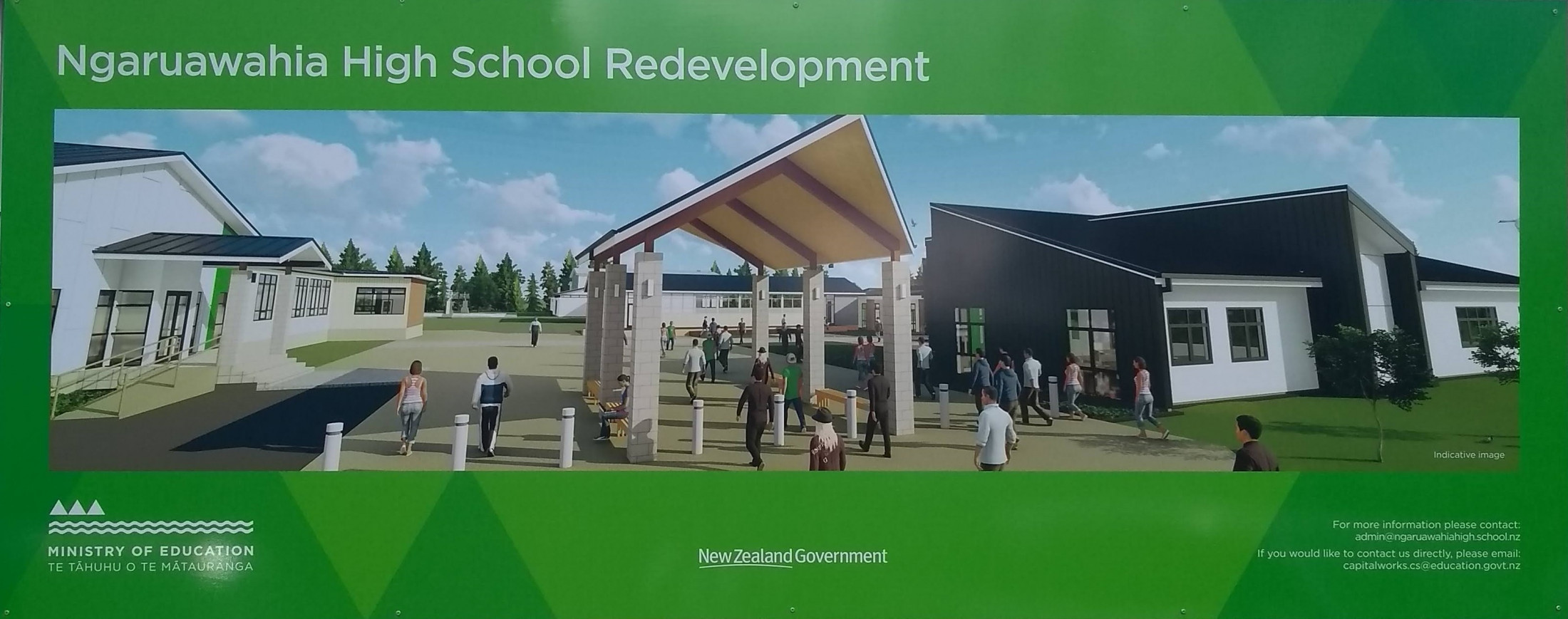 Ngaruawahia Redevelopment Photo Board