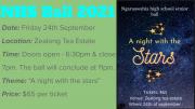 School Senior Ball - 24 September 2021
